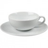 12 pcs set of Cappuccino porcelain cup &amp; saucer HoReCa